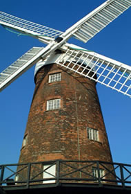 English windmill. (c) freefoto.com