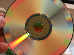 Compact Discs are read by laser light
